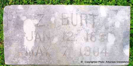 BURT, Z - Lafayette County, Arkansas | Z BURT - Arkansas Gravestone Photos