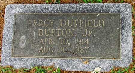 BURTON, JR, PERCY DUFFIELD - Lafayette County, Arkansas | PERCY DUFFIELD BURTON, JR - Arkansas Gravestone Photos
