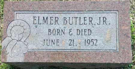 BUTLER, JR, ELMER - Lafayette County, Arkansas   ELMER BUTLER, JR - Arkansas Gravestone Photos