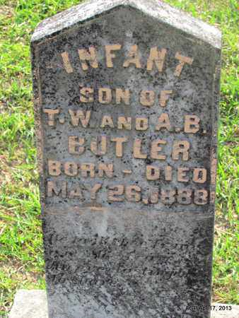 BUTLER, INFANT - Lafayette County, Arkansas   INFANT BUTLER - Arkansas Gravestone Photos