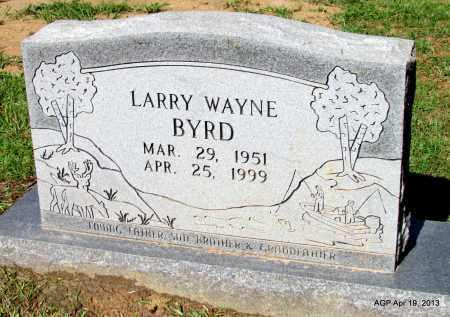 BYRD, LARRY WAYNE - Lafayette County, Arkansas   LARRY WAYNE BYRD - Arkansas Gravestone Photos