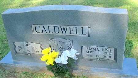 FISH CALDWELL, EMMA - Lafayette County, Arkansas | EMMA FISH CALDWELL - Arkansas Gravestone Photos