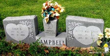 CAMPBELL, ELMER D - Lafayette County, Arkansas   ELMER D CAMPBELL - Arkansas Gravestone Photos