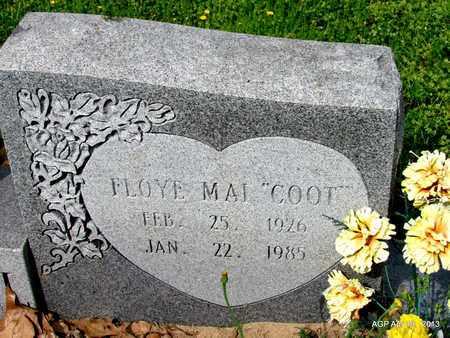"CAMPBELL, FLOYE MAE ""COOT"" (CLOSE UP) - Lafayette County, Arkansas | FLOYE MAE ""COOT"" (CLOSE UP) CAMPBELL - Arkansas Gravestone Photos"