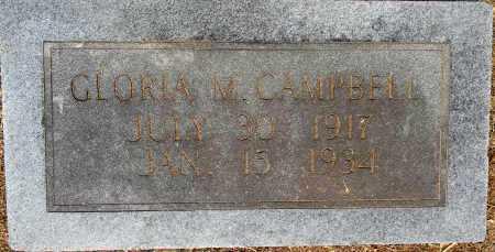 CAMPBELL, GLORIA M - Lafayette County, Arkansas | GLORIA M CAMPBELL - Arkansas Gravestone Photos