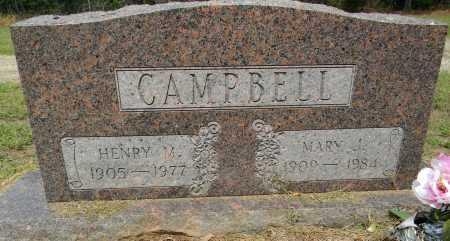 CAMPBELL, MARY  J - Lafayette County, Arkansas | MARY  J CAMPBELL - Arkansas Gravestone Photos