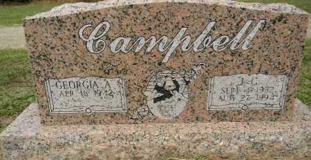 CAMPBELL, J C - Lafayette County, Arkansas | J C CAMPBELL - Arkansas Gravestone Photos