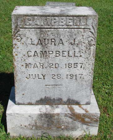 CAMPBELL, LAURA J - Lafayette County, Arkansas   LAURA J CAMPBELL - Arkansas Gravestone Photos