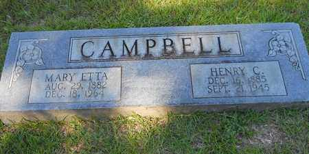 CAMPBELL, MARY ETTA - Lafayette County, Arkansas   MARY ETTA CAMPBELL - Arkansas Gravestone Photos