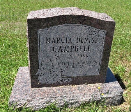 CAMPBELL, MARCIA DENISE - Lafayette County, Arkansas   MARCIA DENISE CAMPBELL - Arkansas Gravestone Photos