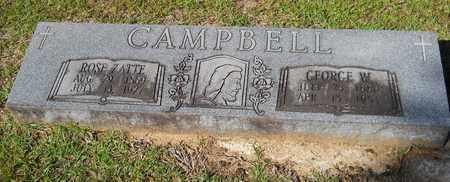 CAMPBELL, ROSE - Lafayette County, Arkansas | ROSE CAMPBELL - Arkansas Gravestone Photos