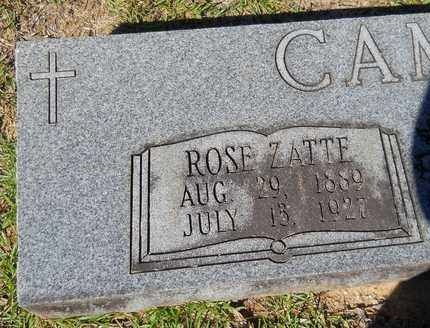 CAMPBELL, ROSE (CLOSEUP) - Lafayette County, Arkansas | ROSE (CLOSEUP) CAMPBELL - Arkansas Gravestone Photos