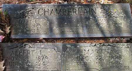 CHAMBERLAIN, ALBERT L - Lafayette County, Arkansas | ALBERT L CHAMBERLAIN - Arkansas Gravestone Photos