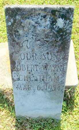 CHEATHAM, ROBERT WAYNE - Lafayette County, Arkansas   ROBERT WAYNE CHEATHAM - Arkansas Gravestone Photos
