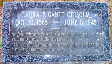 GANTT CHISOLM, LAURA G - Lafayette County, Arkansas | LAURA G GANTT CHISOLM - Arkansas Gravestone Photos