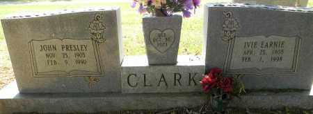 CLARK, IVIE EARNIE - Lafayette County, Arkansas | IVIE EARNIE CLARK - Arkansas Gravestone Photos