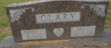 CLARY, HAROLD L - Lafayette County, Arkansas   HAROLD L CLARY - Arkansas Gravestone Photos