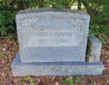 LITTLETON CLEMONS, LOUELLA - Lafayette County, Arkansas   LOUELLA LITTLETON CLEMONS - Arkansas Gravestone Photos