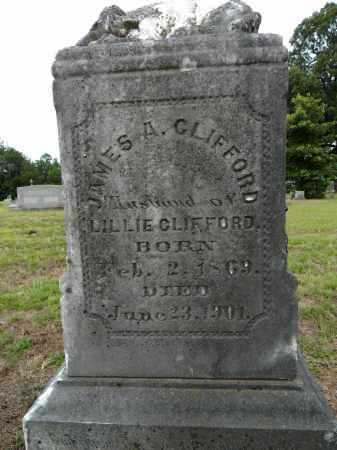 CLIFFORD, JAMES A - Lafayette County, Arkansas | JAMES A CLIFFORD - Arkansas Gravestone Photos