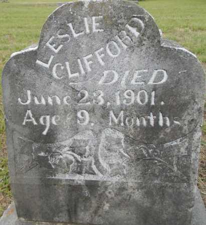 CLIFFORD, LESLIE - Lafayette County, Arkansas   LESLIE CLIFFORD - Arkansas Gravestone Photos