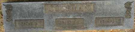 COLEMAN, OSCAR B - Lafayette County, Arkansas | OSCAR B COLEMAN - Arkansas Gravestone Photos