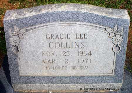 COLLINS, GRACIE LEE - Lafayette County, Arkansas   GRACIE LEE COLLINS - Arkansas Gravestone Photos