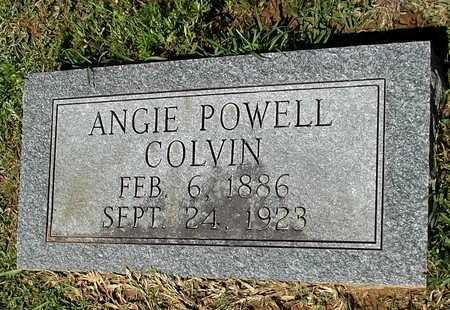 COLVIN, ANGIE - Lafayette County, Arkansas | ANGIE COLVIN - Arkansas Gravestone Photos