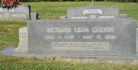 COLVIN, RICHARD LEON - Lafayette County, Arkansas   RICHARD LEON COLVIN - Arkansas Gravestone Photos