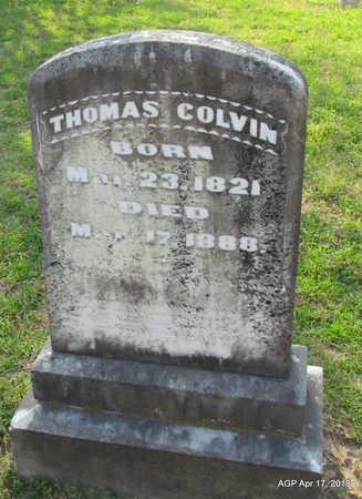 COLVIN, THOMAS - Lafayette County, Arkansas | THOMAS COLVIN - Arkansas Gravestone Photos