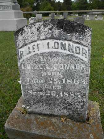 CONNOR, R LEE - Lafayette County, Arkansas | R LEE CONNOR - Arkansas Gravestone Photos