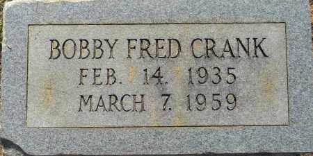 CRANK, BOBBY FRED - Lafayette County, Arkansas   BOBBY FRED CRANK - Arkansas Gravestone Photos
