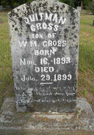 CROSS, QUITMAN - Lafayette County, Arkansas   QUITMAN CROSS - Arkansas Gravestone Photos