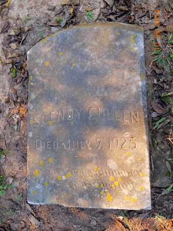 CULLEN, SCENDY - Lafayette County, Arkansas   SCENDY CULLEN - Arkansas Gravestone Photos
