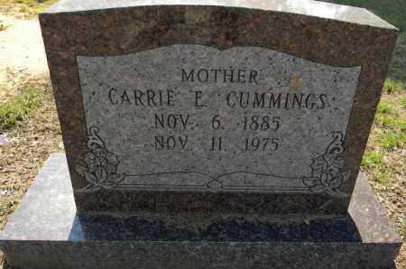 CUMMINGS, CARRIE E - Lafayette County, Arkansas | CARRIE E CUMMINGS - Arkansas Gravestone Photos