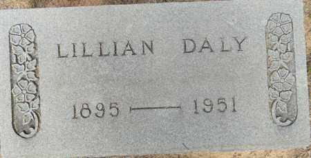 DALY, LILLIAN - Lafayette County, Arkansas   LILLIAN DALY - Arkansas Gravestone Photos