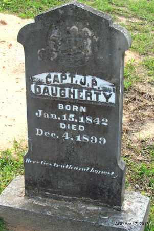 DAUGHERTY (VETERAN CSA), JAMES P - Lafayette County, Arkansas | JAMES P DAUGHERTY (VETERAN CSA) - Arkansas Gravestone Photos