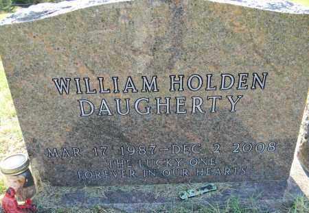 DAUGHERTY, WILLIAM HOLDEN - Lafayette County, Arkansas   WILLIAM HOLDEN DAUGHERTY - Arkansas Gravestone Photos