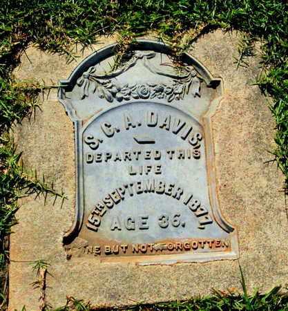 WHITTEN DAVIS, SARENTHA CLARICE - Lafayette County, Arkansas   SARENTHA CLARICE WHITTEN DAVIS - Arkansas Gravestone Photos