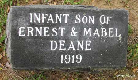 DEANE, INFANT - Lafayette County, Arkansas | INFANT DEANE - Arkansas Gravestone Photos