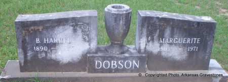 DOBSON, B HARRELL - Lafayette County, Arkansas | B HARRELL DOBSON - Arkansas Gravestone Photos