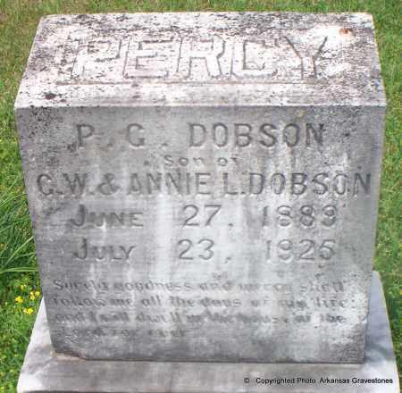 DOBSON, PERCY G - Lafayette County, Arkansas | PERCY G DOBSON - Arkansas Gravestone Photos