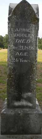 DOOLEY, CARRIE - Lafayette County, Arkansas   CARRIE DOOLEY - Arkansas Gravestone Photos