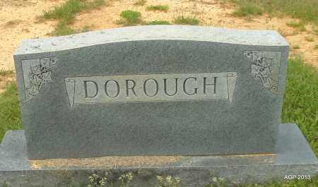 DOROUGH FAMILY STONE,  - Lafayette County, Arkansas |  DOROUGH FAMILY STONE - Arkansas Gravestone Photos