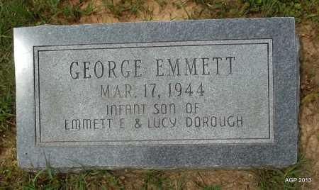 DOROUGH, GEORGE EMMETT - Lafayette County, Arkansas | GEORGE EMMETT DOROUGH - Arkansas Gravestone Photos
