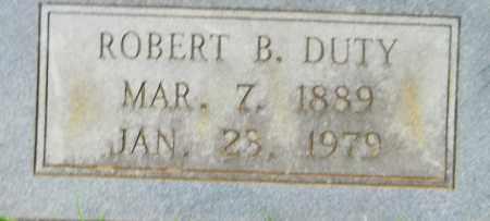 DUTY, ROBERT B - Lafayette County, Arkansas | ROBERT B DUTY - Arkansas Gravestone Photos