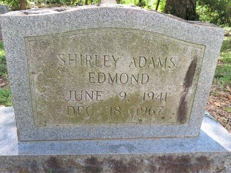 ADAMS EDMOND, SHIRLEY - Lafayette County, Arkansas   SHIRLEY ADAMS EDMOND - Arkansas Gravestone Photos