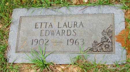 EDWARDS, ETTA LAURA - Lafayette County, Arkansas   ETTA LAURA EDWARDS - Arkansas Gravestone Photos