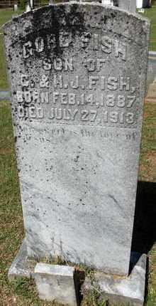 FISH, GORE - Lafayette County, Arkansas   GORE FISH - Arkansas Gravestone Photos