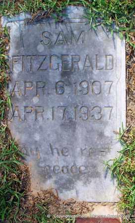 FITZGERALD, SAM - Lafayette County, Arkansas | SAM FITZGERALD - Arkansas Gravestone Photos
