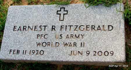 FITZGERALD (VETERAN WWII), EARNEST R - Lafayette County, Arkansas | EARNEST R FITZGERALD (VETERAN WWII) - Arkansas Gravestone Photos